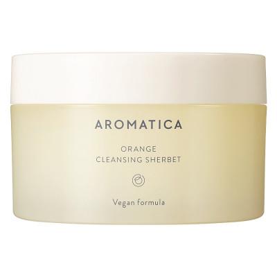 Очищающий щербет с апельсиновым маслом AROMATICA Orange Cleansing Sherbet