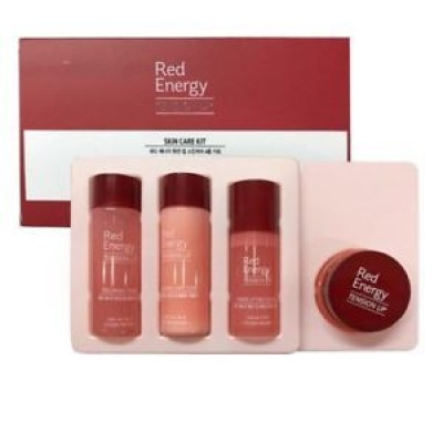 Набор для зрелой кожи ETUDE HOUSE Red Energy Tension Up Skin Care 4 Kit