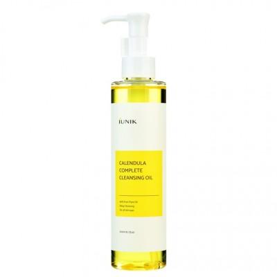 Гидрофильное масло с экстрактом календулы IUNIK Calendula Complete Cleansing Oil