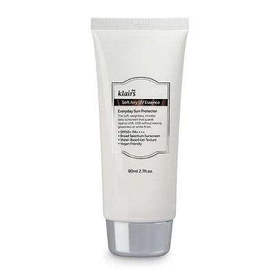 Солнцезащитный крем с лёгкой текстурой на основе химических фильтров KLAIRS Soft Airy UV Essence - 80 мл