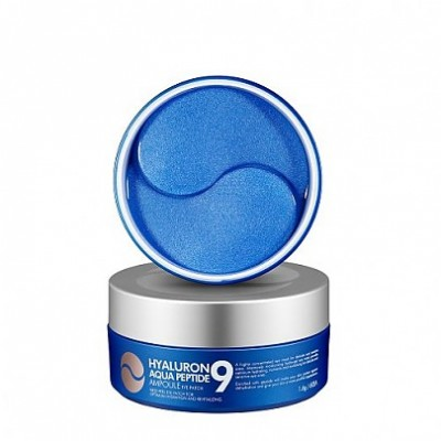 Патчи для глаз с пептидами и гиалуроновой кислотой MEDI-PEEL Hyaluron Aqua Peptide 9 Ampoule Eye Patch