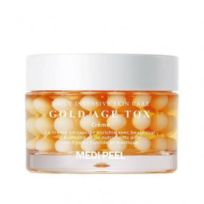 Антивозрастной капсульный крем с золотом MEDI-PEEL Gold Age Tox Cream - 50 мл