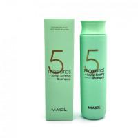 Шампунь для глубокого очищения кожи головы MASIL 5 Probiotics Scalp Scaling Shampoo - 300 мл