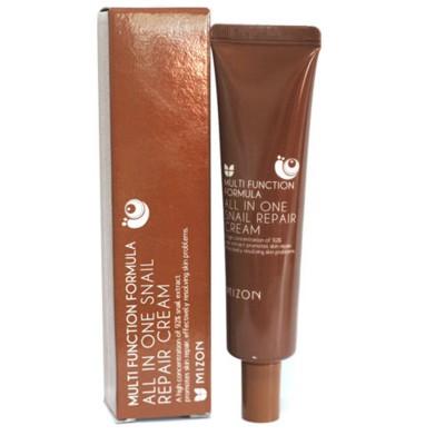 Улиточный крем для лица MIZON All in One Snail Repair Cream - 35ml