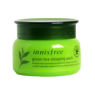 Ночная маска с зеленым чаем INNISFREE Green Tea Sleeping Mask