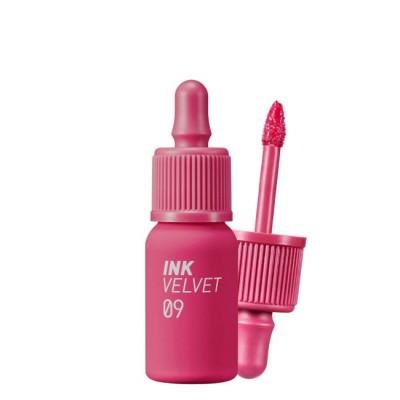 Матовый тинт для губ с увлажняющим действием PERIPERA Ink The Velvet (AD) Color 09 Sparkling Pink - 4 г