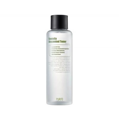 Успокаивающий тонер для чувствительной кожи без масел PURITO Centella Unscented Toner - 200 мл