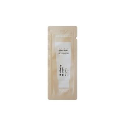 BB-крем для естественного сияющего вида и надёжной защиты от ультрафиолетовых лучей типа UVA / UVB PURITO Cica Clearing BB Cream Color 21 Light Beige - 1 мл
