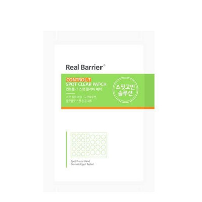 Патчи для проблемной кожи REAL BARRIER Control-T Spot Clear Patch - 32 шт