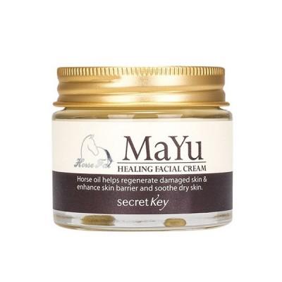 Крем с лошадиным жиром SECRET KEY MAYU Healing Facial Cream