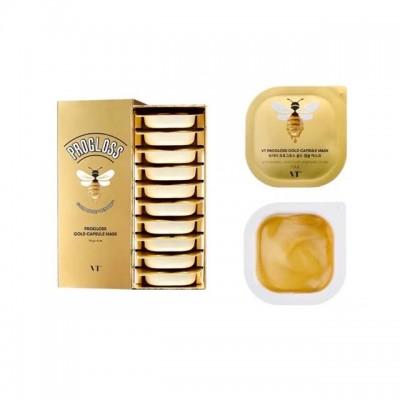 Антивозрастная маска с медом VT Progloss Gold Capsule Mask