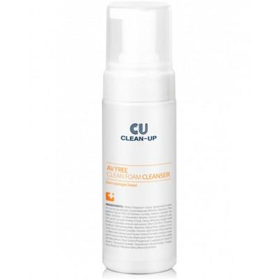 Деликатная пенка для умывания CUSKIN Clean Up AV Free Clean Foam Cleanser - 150 мл