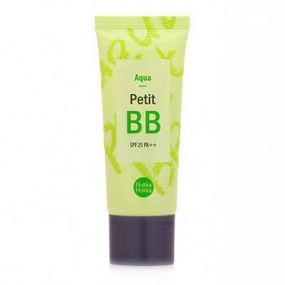 ББ крем с зеленым чаем HOLIKA HOLIKA Petit BB Cream - Aqua