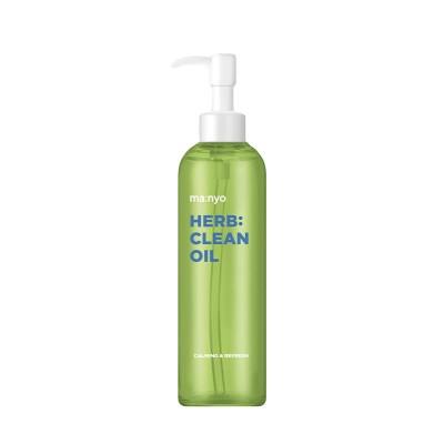 Успокаивающее гидрофильное масло MA:NYO Herb Green Cleansing Oil - 200 мл