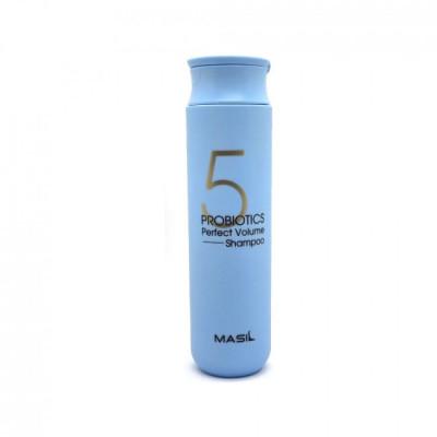 Шампунь для объема волос с пробиотиками MASIL 5 Probiotics Perfect Volume Shampoo - 300 мл