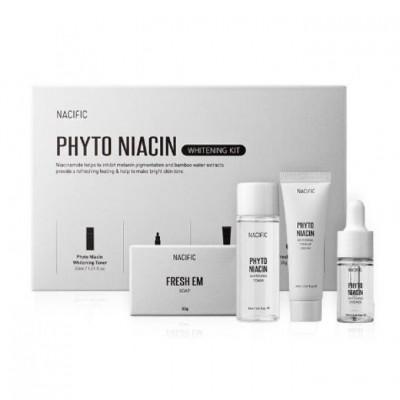 Осветляющий набор миниатюр с ниацинамидом NACIFIC Phyto Niacin Whitening Kit