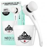 Очищающая поры маска с канадской глиной NEOGEN Dermalogy Canadian Clay PORE Cleanser Special KIT (со щеточкой для снятия маски)