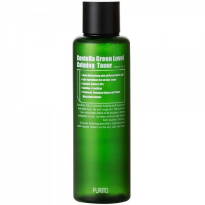 Успокаивающий тонер PURITO Centella Green Level Calming Toner