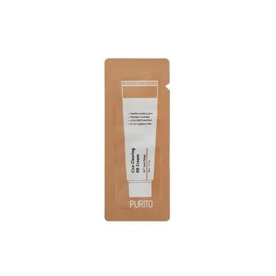 BB-крем для естественного сияющего вида и надёжной защиты от ультрафиолетовых лучей типа UVA / UVB PURITO Cica Clearing BB Cream Color 27 Sand Beige - 1 мл