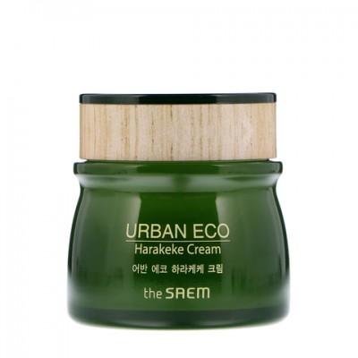 Увлажняющий крем на основе новозеландского льна THE SAEM Urban Eco Harakeke Cream
