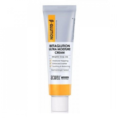 Увлажняющий крем на основе бета-глюкана ACWELL Betaglution Ultra Moisture Cream - 50 мл