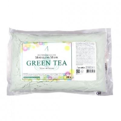 Альгинатная маска с зеленым чаем Anskin Green Tea Modeling Mask