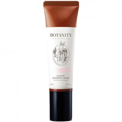 Успокаивающий питательный крем для лица BOTANITY Flavon Intensive Cream - 50 мл