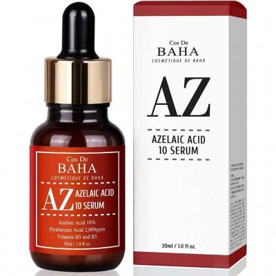 Сыворотка с азелаиновой кислотой COS DE BAHA Azelaic Acid 10% Serum - 30 мл