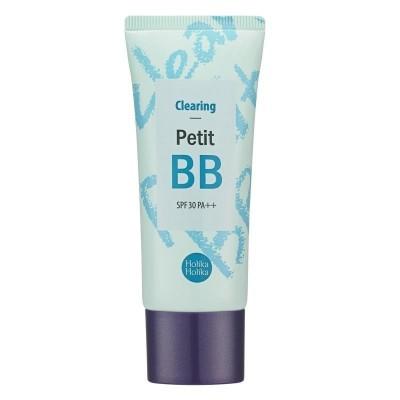 ББ крем с маслом чайного дерева HOLIKA HOLIKA Petit BB Cream - Clearing