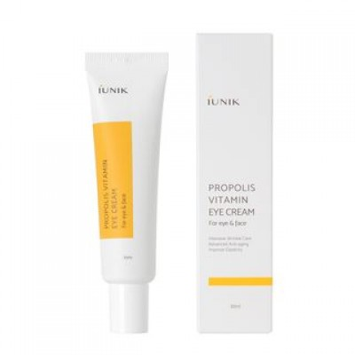 Крем для век с прополисом IUNIK Propolis Vitamin Eye Cream For Eye & Face - 30 мл