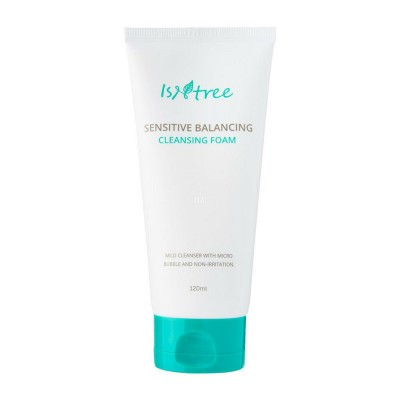 Пенка для чувствительной кожи ISNTREE Sensitive Balancing Cleansing Foam