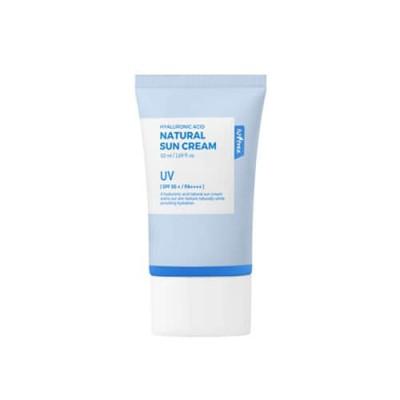 Солнцезащитный крем с гиалуроновой кислотой ISNTREE Hyaluronic Acid Natural Sun Cream - 50 мл (SPF50+, PA++++)