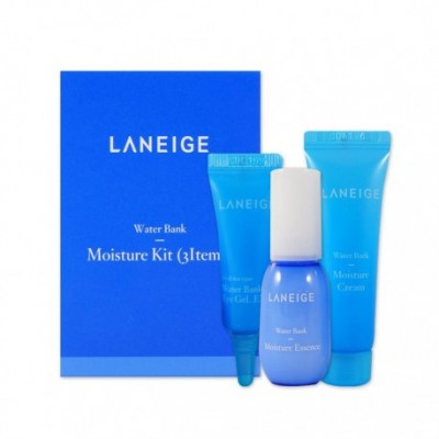Мини набор увлажняющих средств Laneige Water Bank Moisture 3 Kit