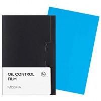 Матирующие салфетки для жирной кожи MISSHA Oil Control Film