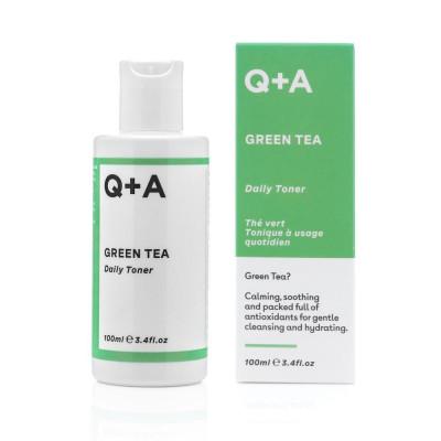 Тонер для лица с зеленым чаем Q+A Green Tea Daily Toner - 100 мл