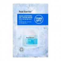 Успокаивающая и увлажняющая тканевая маска REAL BARRIER Aqua Soothing Gel Cream Mask