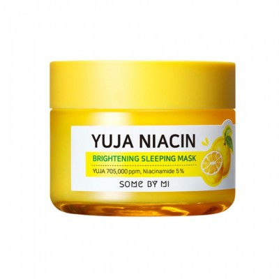 Осветляющая ночная маска SOME BY MI Yuja Niacin Brightening Sleeping Mask