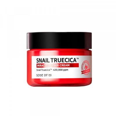 Восстанавливающий крем с улиточным муцином SOME BY MI Snail Truecica Miracle Repair Cream - 60 г