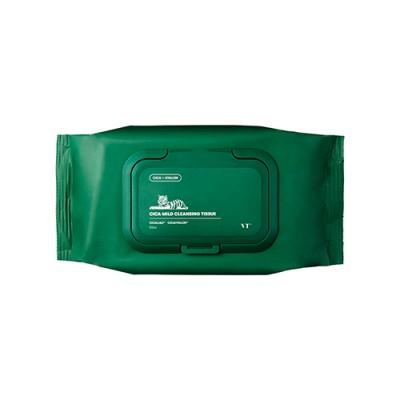 Салфетки для снятия макияжа VT Cica Mild Cleansing Tissue