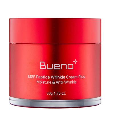 Антивозрастной крем на основе пептидов и факторов роста BUENO MGF Peptide Wrinkle Cream Plus - 50 мл