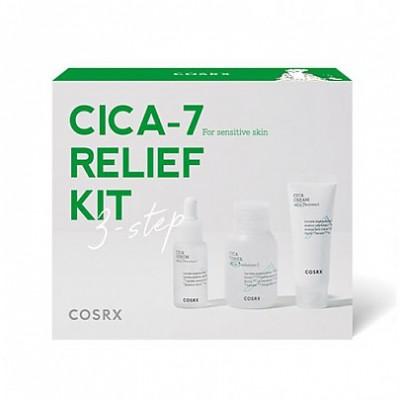 Набор миниатюр с центеллой COSRX Pure Fit CICA-7 Relief Kit
