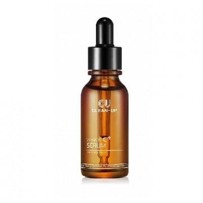 Сыворотка с витамином С для осветления и обновления кожи CUSKIN Clean Up Vitamin C+ Serum - 20 мл