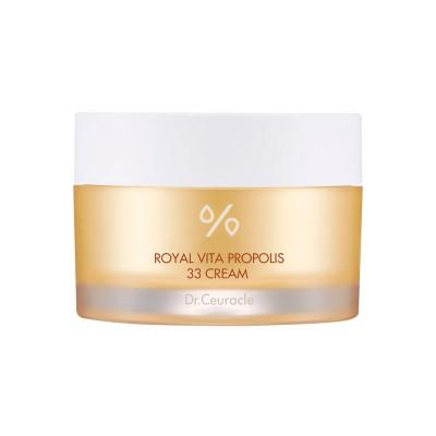Крем для лица с прополисом DR CEURACLE Royal Vita Propolis 33 Cream - 50 г