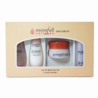 Набор миниатюр средств для лица с коллагеном ETUDE HOUSE Moistfull Collagen Skin Care 4 Kit