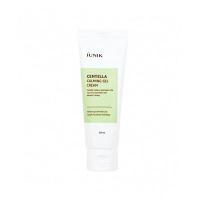Успокаивающий крем-гель для лица с центеллой IUNIK Centella Calming Gel Cream