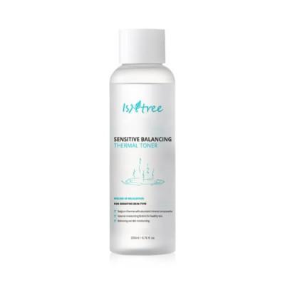 Тонер для чувствительной кожи ISNTREE Sensitive Balancing Thermal Toner