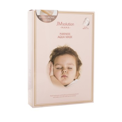 Увлажняющая тканевая маска JM SOLUTION MAMA Pureness Aqua Mask