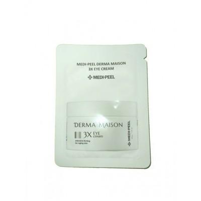 Антивозрастной крем для век с эффектом лифтинга MEDI-PEEL Derma Maison 3X Eye Cream - Пробник