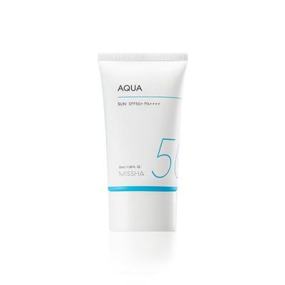 Легкий солнцезащитный крем-гель MISSHA All Around Safe Block Aqua Sun Gel