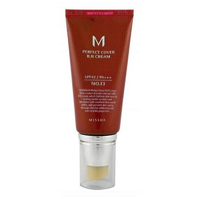 "ББ крем MISSHA M Perfect Cover BB Cream (SPF42/PA+++) Color - 13 ""Bright Beige"" - 50 мл"